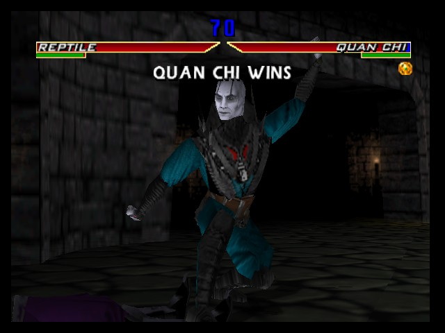 Mortal Kombat 4 - i LOSE to Quian chi - User Screenshot